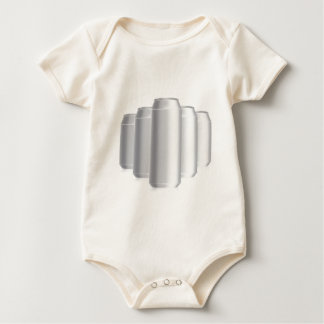 grey cans baby bodysuit