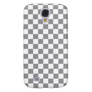 Grey Checkerboard Galaxy S4 Cover
