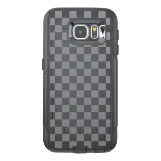 Grey Checkerboard OtterBox Samsung Galaxy S6 Case