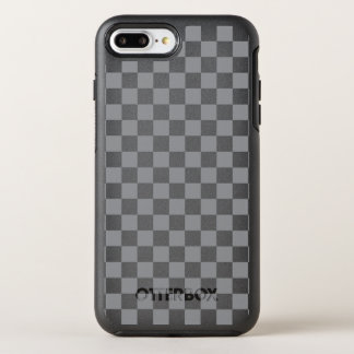 Grey Checkerboard OtterBox Symmetry iPhone 8 Plus/7 Plus Case
