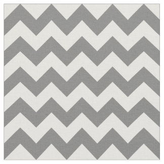 Grey Chevron Fabric, Nursery Fabric
