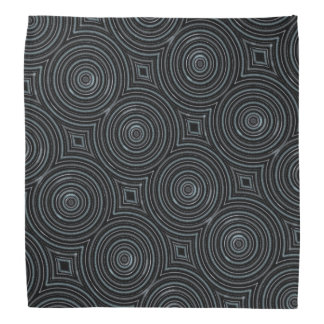 Grey circles bandana