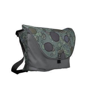 Grey Circles Commuter Bags