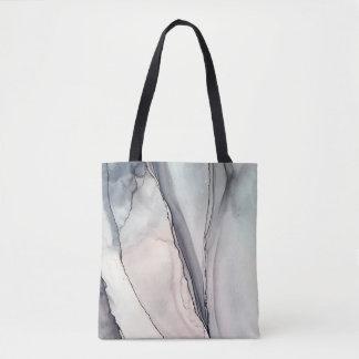 Grey Clash - Inkwork by Karen Ruane Tote Bag