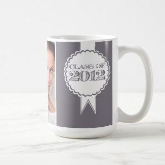 Grey Class of 2012 Photograph Graduation Mug