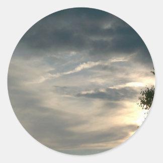 Grey Clouds Sticker