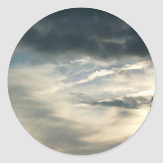 Grey Clouds Stickers