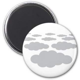 grey clouds weather refrigerator magnets
