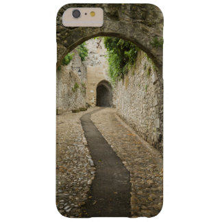 Grey Cobblestone street, France Barely There iPhone 6 Plus Case