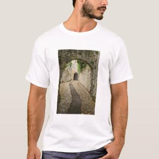 Grey Cobblestone street, France T-Shirt