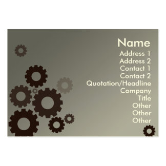 Grey Cogs - Chubby Pack Of Chubby Business Cards