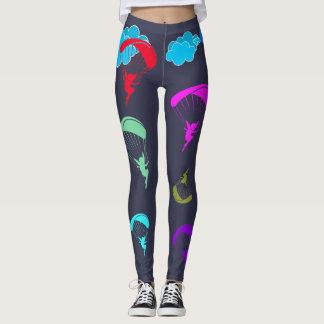 Grey Colourful Pixie Leggings