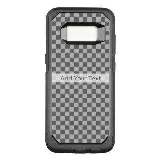 Grey Combination Checkerboard by Shirley Taylor OtterBox Commuter Samsung Galaxy S8 Case