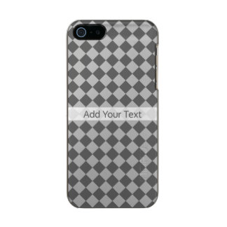 Grey Combination Diamond Pattern by Shirley Taylor Incipio Feather® Shine iPhone 5 Case
