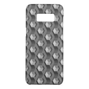 Grey Cube Pattern Isometric Case-Mate Samsung Galaxy S8 Case