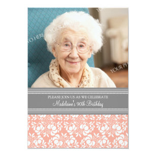 90th Birthday Invitations Announcements Zazzlecomau
