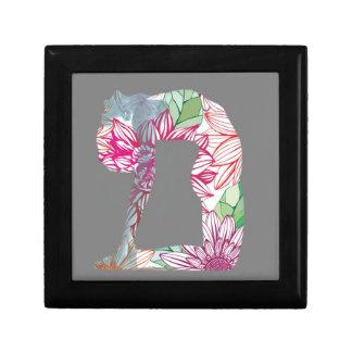 Grey Deco Floral Yoga Series Gift Box