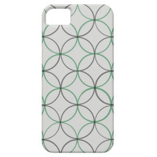 Grey double ring sleek iPhone 5 case