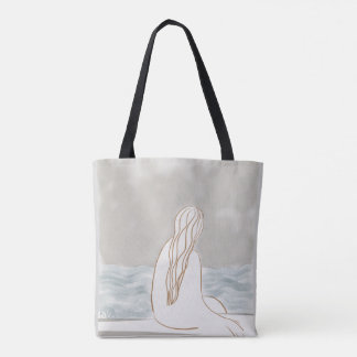 Grey Drizzle Day Bag