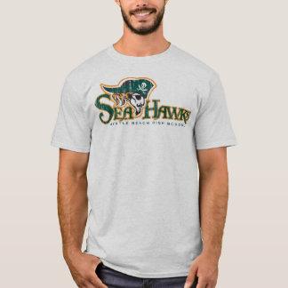 Grey DT Seahawk T-Shirt(L) T-Shirt