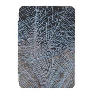 Grey Feather Abstract iPad Mini Cover