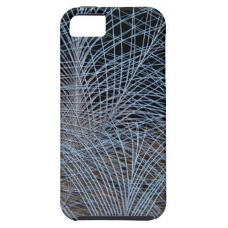 Grey Feather Abstract iPhone 5 Case