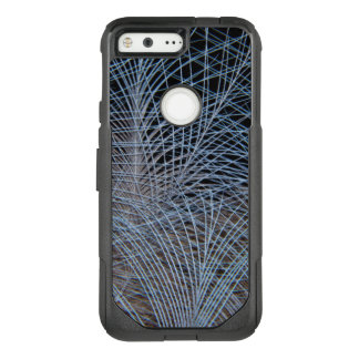 Grey Feather Abstract OtterBox Commuter Google Pixel Case