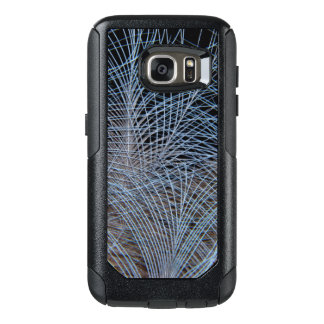 Grey Feather Abstract OtterBox Samsung Galaxy S7 Case