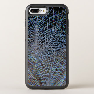Grey Feather Abstract OtterBox Symmetry iPhone 8 Plus/7 Plus Case
