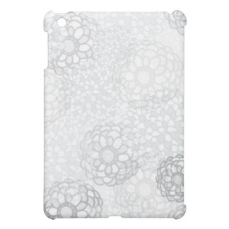 Grey Flower Burst Design Cover For The iPad Mini