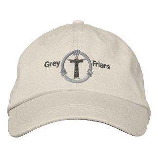 Grey friars embroidered baseball caps