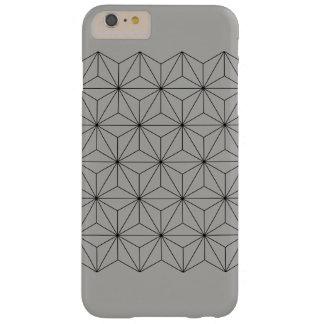Grey Geometric iPhone Case