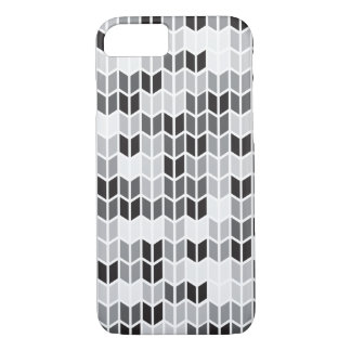 Grey Geometric Pattern iPhone 8/7 Case