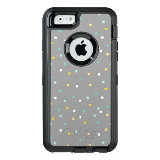 Grey geometric pattern Otterbox iphone case