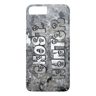 Grey Granite Skulls Ghost Hunter iPhone 7 Plus Case