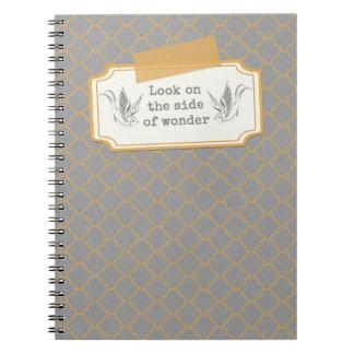 Grey Gratitude Notebook