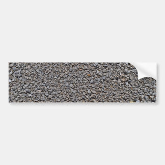 Grey Gravel Pattern Rocks Bumper Sticker