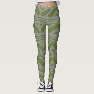 grey green leggings
