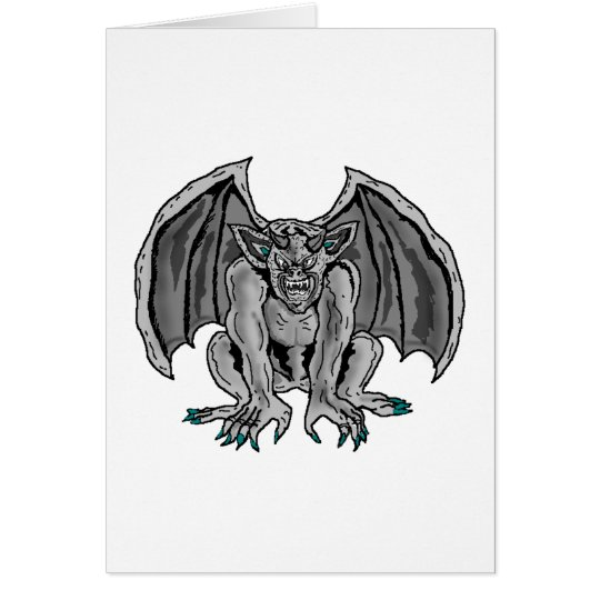 Grey/Grey Gargoyle Card