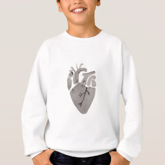 Grey Heart Sweatshirt