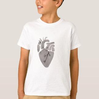 Grey Heart T-Shirt