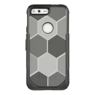 Grey hexagon geometric OtterBox Google Pixel 5""