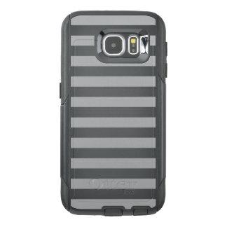 Grey Horizontal Stripes OtterBox Samsung Galaxy S6 Case