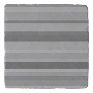 Grey horizontal stripes trivet