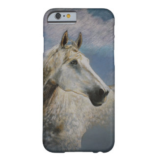 grey horse barely there iPhone 6 case