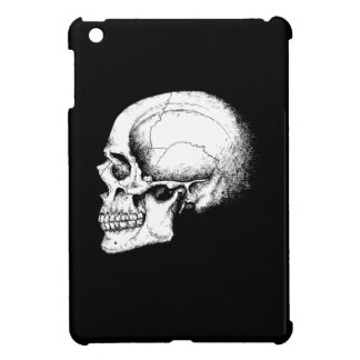 Grey Human Skull side iPad Mini Cover