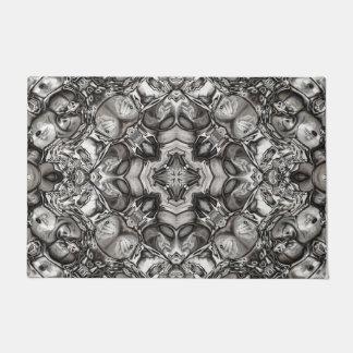 Grey Kaleidoscope Doormat