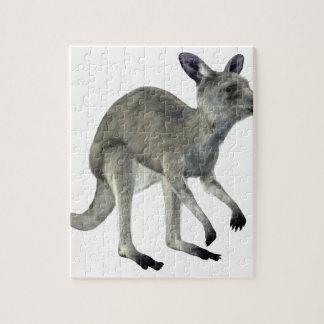 Grey Kangaroo Jigsaw Puzzle