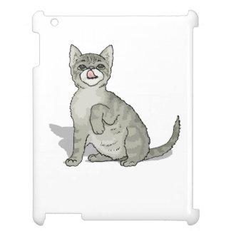 Grey Kitten iPad Case