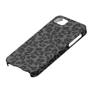 Grey Leopard Iphone case